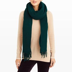 Club Monaco Green Raniko Scarf